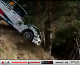 2008 monte carlo rally crashes video. Black Bedroom Furniture Sets. Home Design Ideas