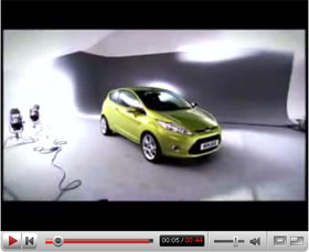 2009 ford fiesta promo video. Black Bedroom Furniture Sets. Home Design Ideas