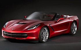Corvette Stingray  2014 on 2014 Chevrolet Corvette Stingray Convertible Announced Photos