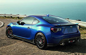 2015 Subaru BRZ Price and STI Body Parts Photos