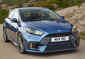 2016 Ford Focus RS AWD: Specs, Equipment Photos
