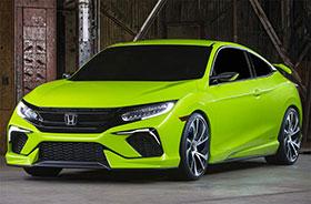 2016 Honda Civic Coupe Concept Photos