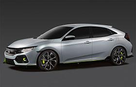 2017 Honda Civic Hatchback Concept Photos