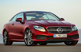 2018 Mercedes E Class Coupe Revealed Photos