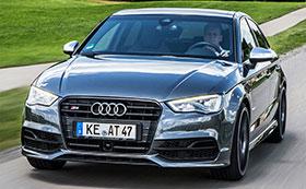 Audi S3 Sedan Powerkit, Body Kit And Mirror Finish by ABT Photos