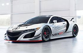 Acura NSX GT3 Racecar Photos