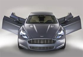 Aston Martin Rapide Test Drive Video