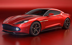 Aston Martin Vanquish Zagato Revealed Photos