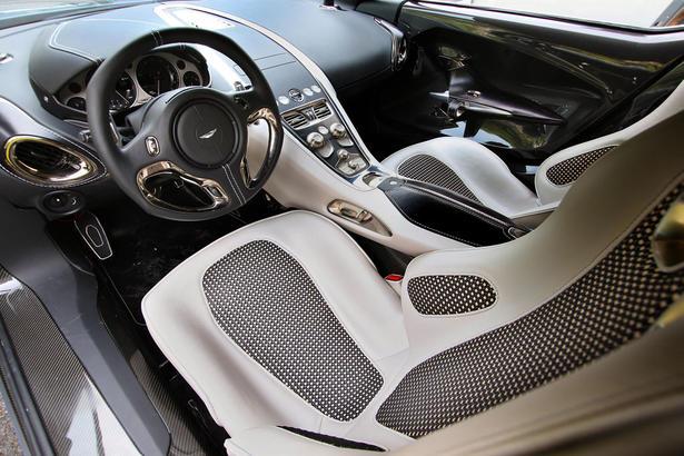 Aston Martin One 77 top speed