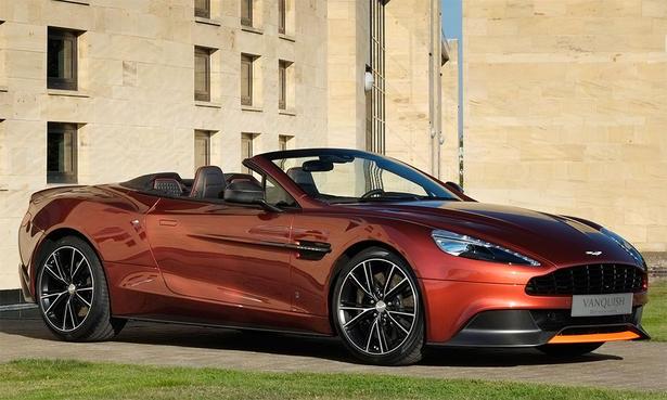Aston Martin Vanquish Volante Q - Aston martin vanquish volante