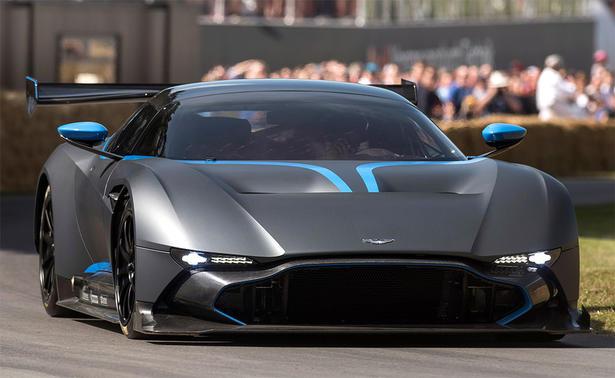 Matte Range Rover >> Aston Martin Vulcan Finds Its Dark Side