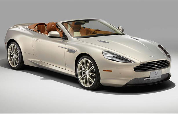 Aston Martin DB Volante Gets Equestrian Accessories By Q - Aston martin accessories