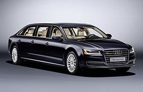 Audi A8L Extended: A 6 Door Limousine Photos
