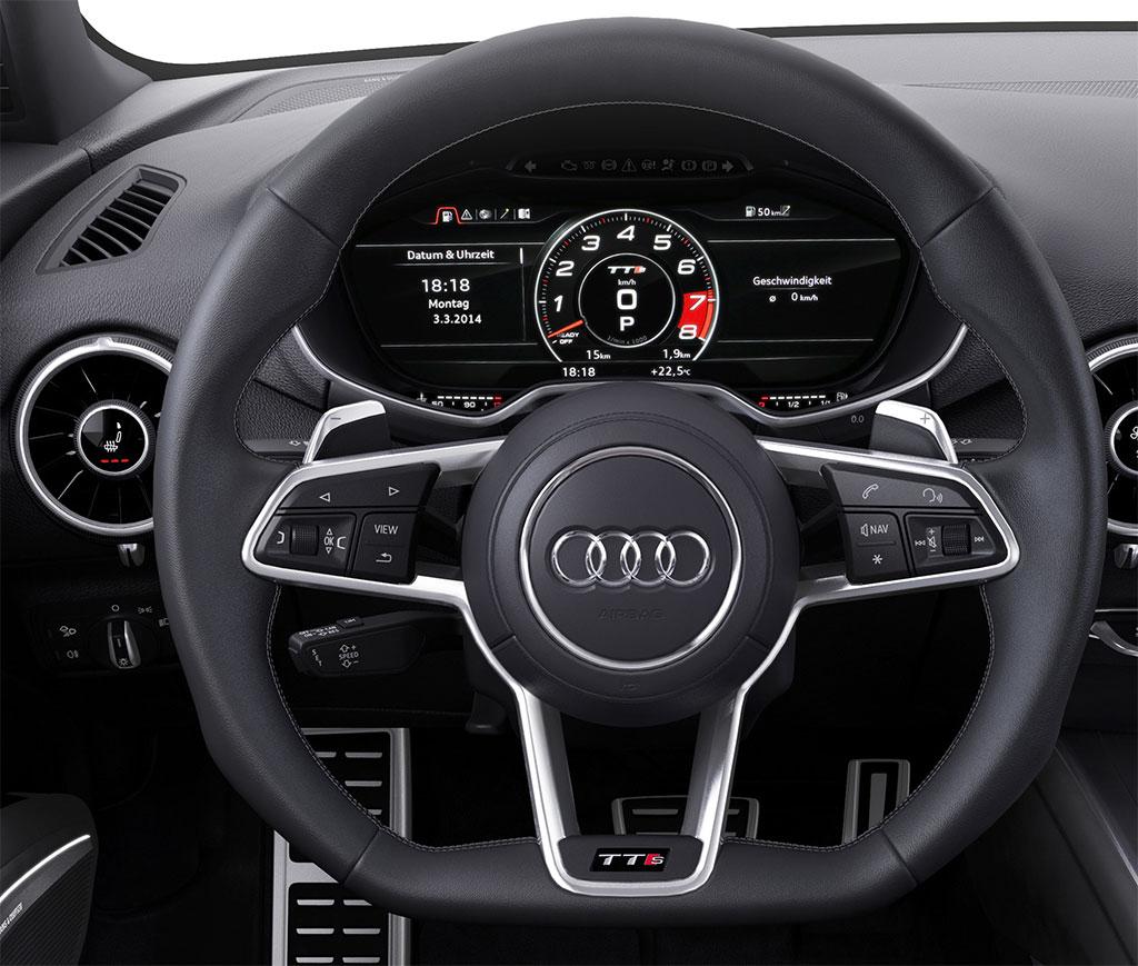 Ausmotive Com Geneva 2014 Audi Tt Quattro Sport Concept: 2015 Audi TTS Photo 4 13851
