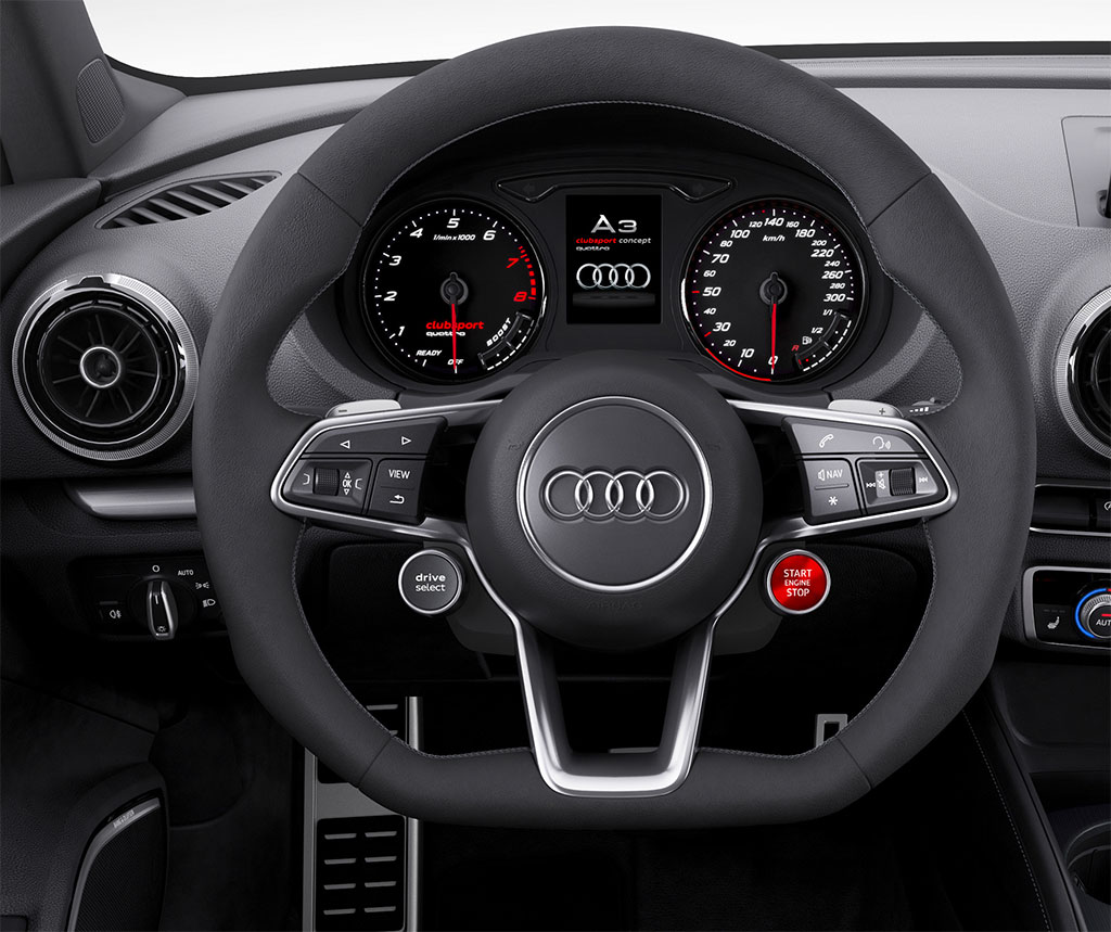 Audi A3 Clubsport Quattro Concept Photo 4 13967