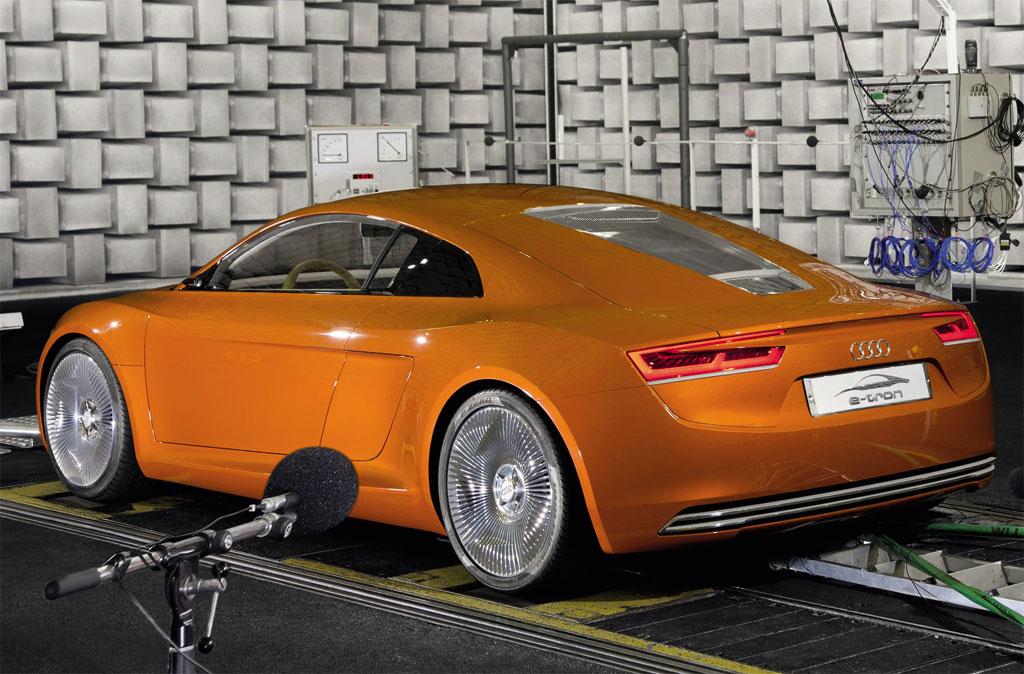 Audi acoustics electric cars 3