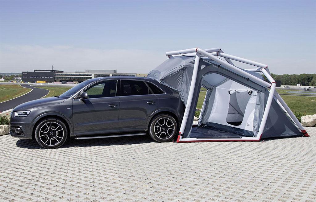 Audi Q3 Camping Tent Photo 2 14007