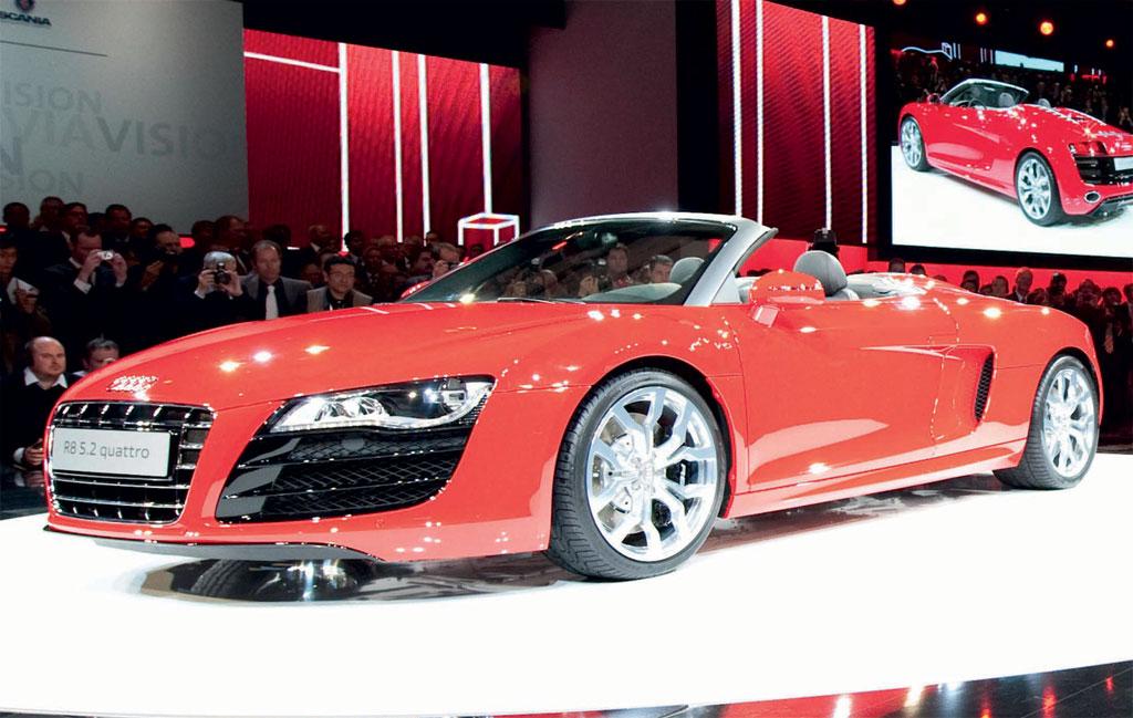 Audi R8 Spyder Photo 3 6890