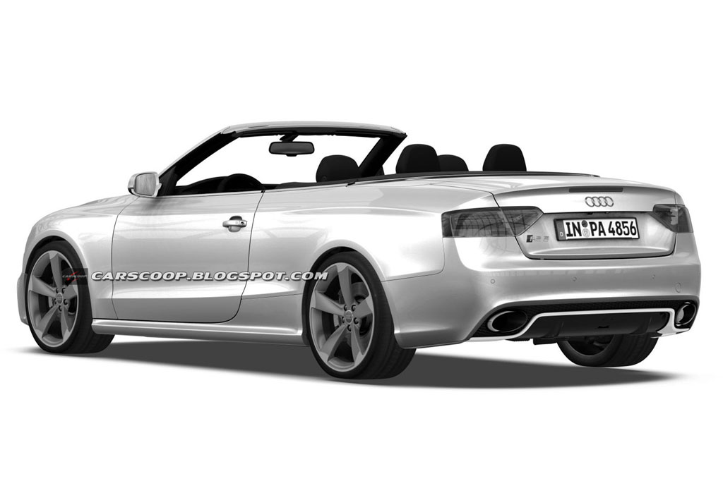 audi rs5 cabrio drawings photo 2 11704. Black Bedroom Furniture Sets. Home Design Ideas