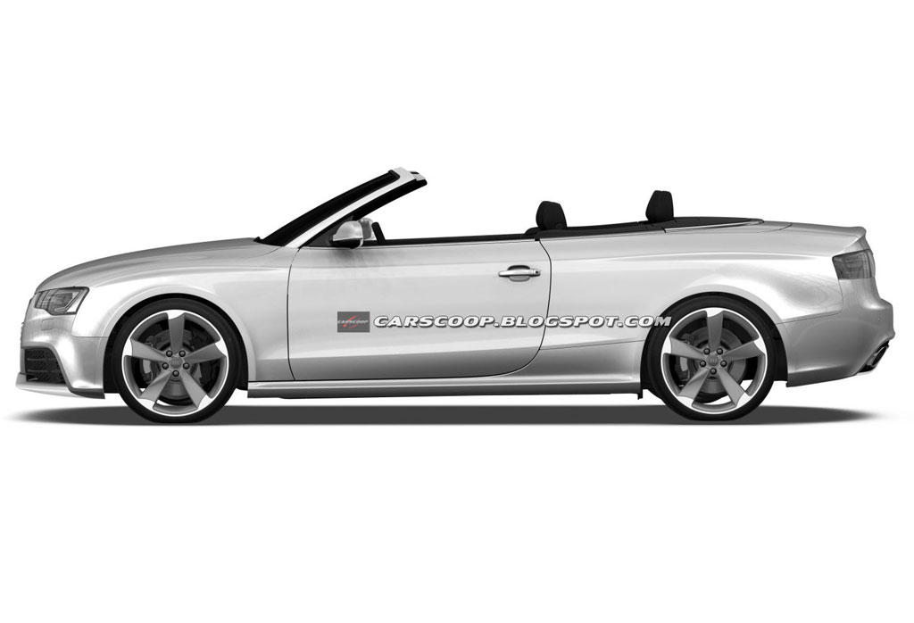 audi rs5 cabrio drawings photo 3 11704. Black Bedroom Furniture Sets. Home Design Ideas