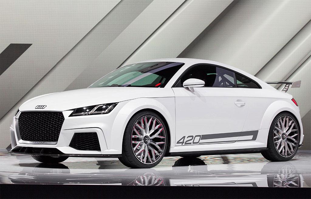 Audi quattro 2018 golf