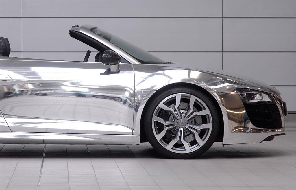 Chromed Audi R8 Spyder Photo 5 11258
