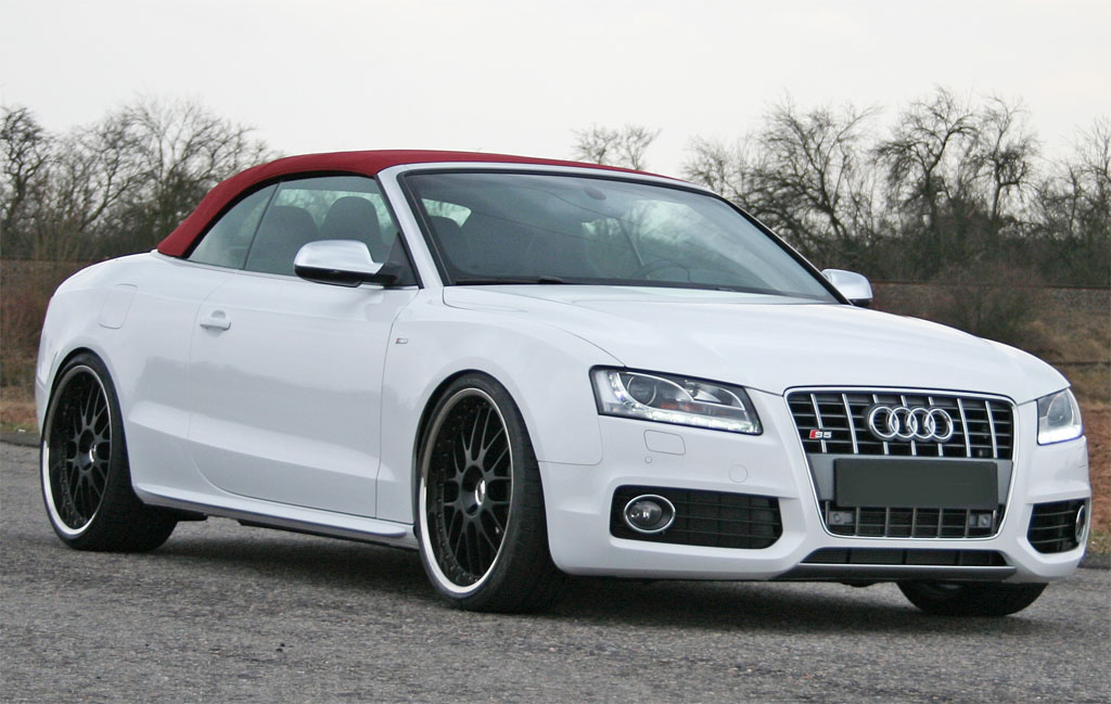 Gallery For > Custom Audi A5 Convertible