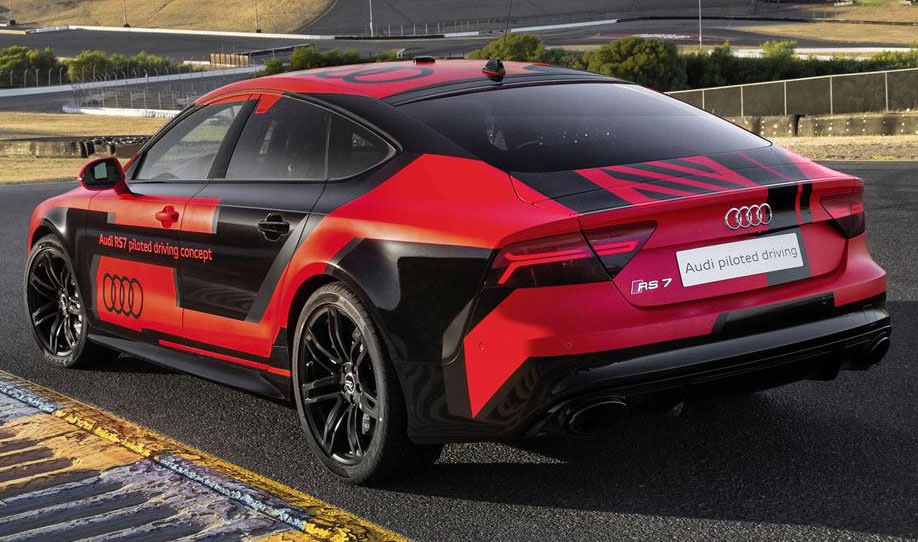 Piloted Audi Rs7 Photo 2 14647