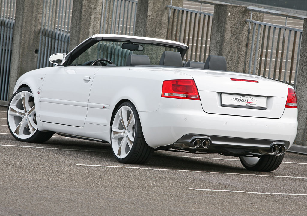 Sport Wheels Audi A4 Cabrio Photo 2 11115