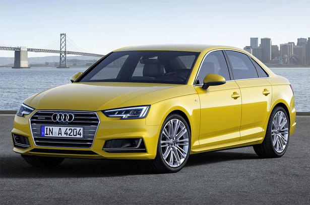 Audi Reveals 2016 A4 And A4 Avant