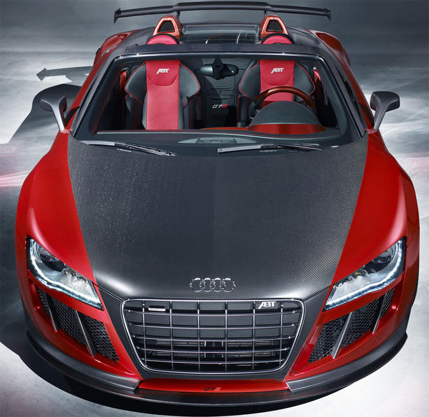 Audi S New Hybrid Sports Car Comes With Laser Headlights: ABT Audi R8 GTS