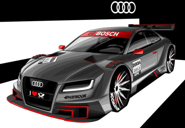audi a5 dtm concept. Black Bedroom Furniture Sets. Home Design Ideas