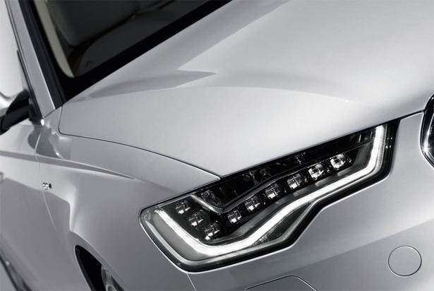 audi a6 led. Audi A6 LED Headlights