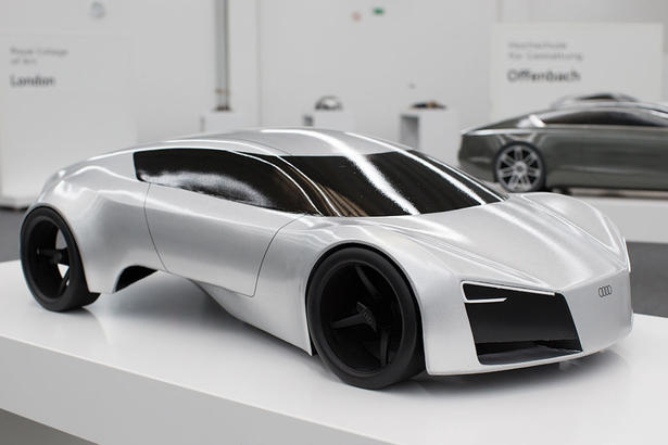 Young designers envision the audi of the future for Uni offenbach