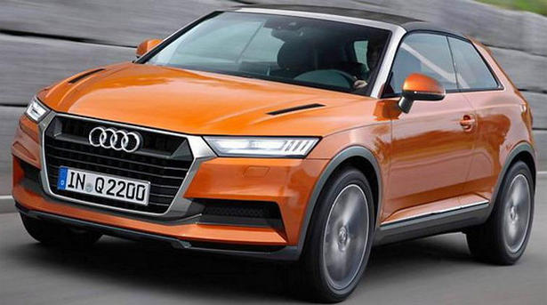 audi q2 crosslane coupe leaked. Black Bedroom Furniture Sets. Home Design Ideas