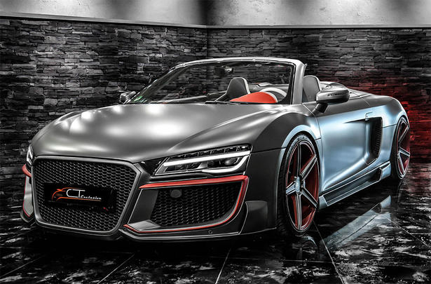 Audi R8 Body Kit By Ct Exclusive