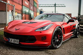 Chevrolet Corvette C7 Z06 Body Kit and Powerkit by BBM Photos