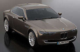 BMW CS Vintage Concept by David Obendorfer Photos