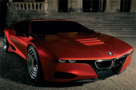 bmw m1 hommage concept con aire retro futurista 2017. Black Bedroom Furniture Sets. Home Design Ideas