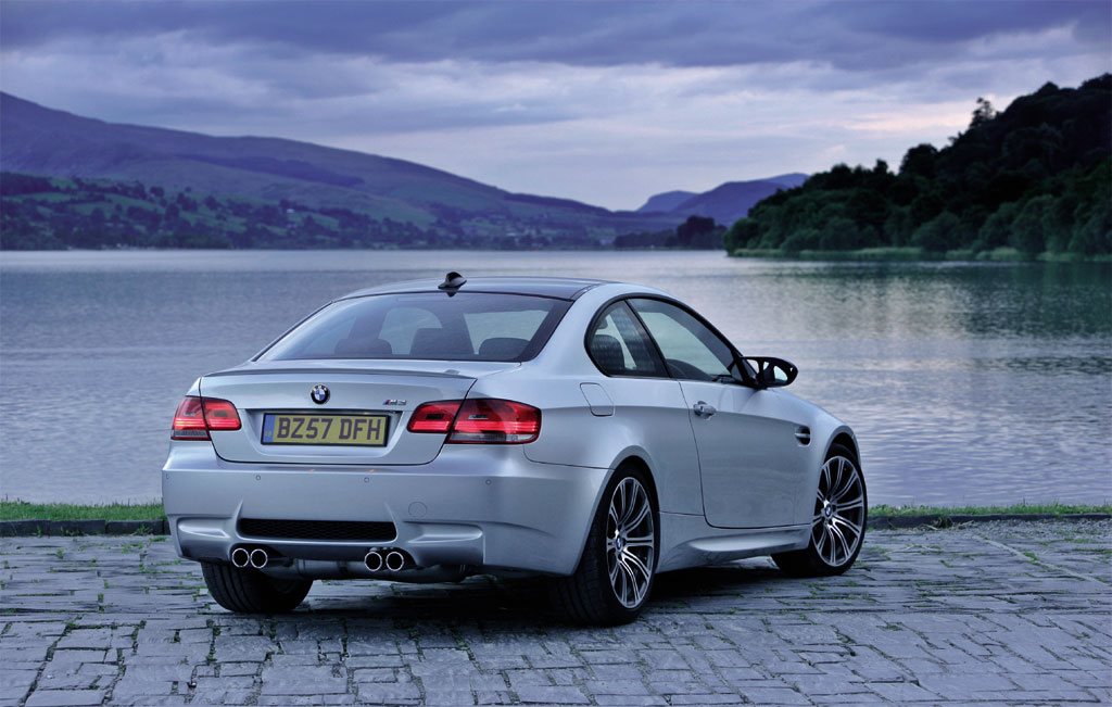 2008 BMW M3 Coupe UK 3