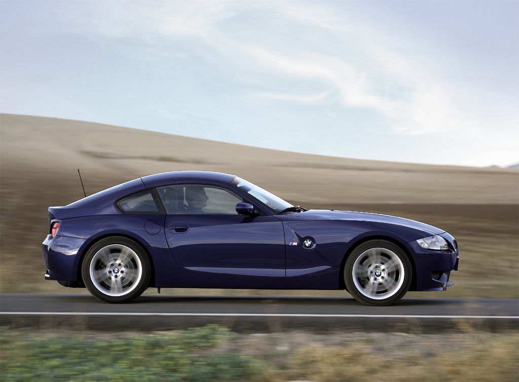 2008 Bmw Z4 M Coupe Photo 1 1717