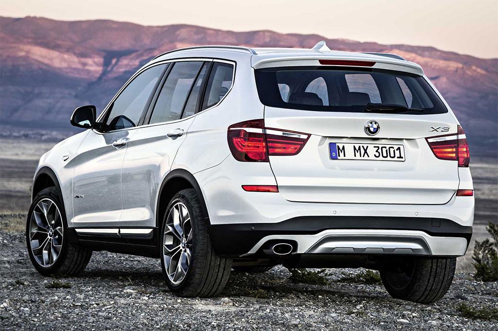 2015 BMW X3 Facelift 2