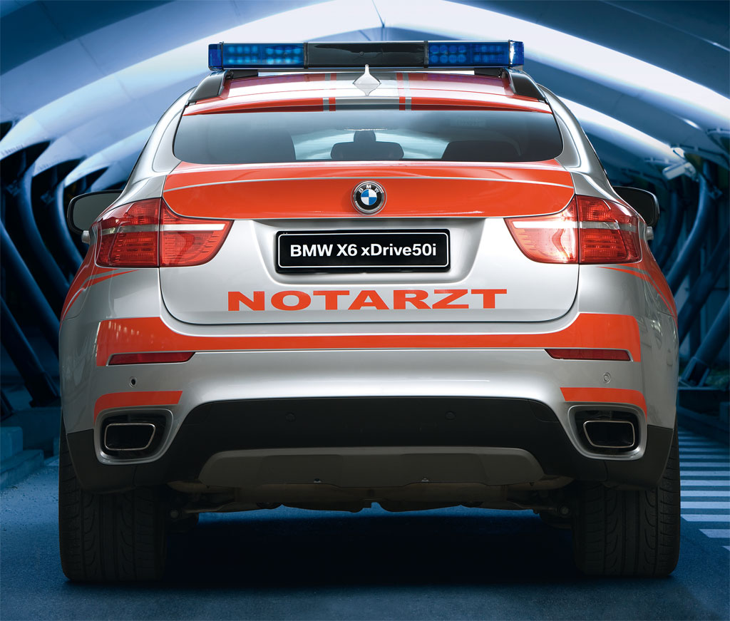 BMW X6 Ambulance Photo 4 5883