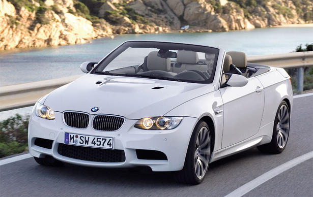 2008 BMW M3 Convertible in US