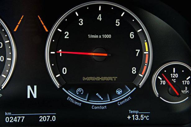 2016 Bmw X6m Powerkit By Manhart