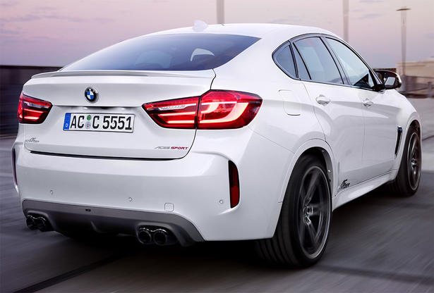 2015 Bmw X6m Powerkit And Accessories By Ac Schnitzer