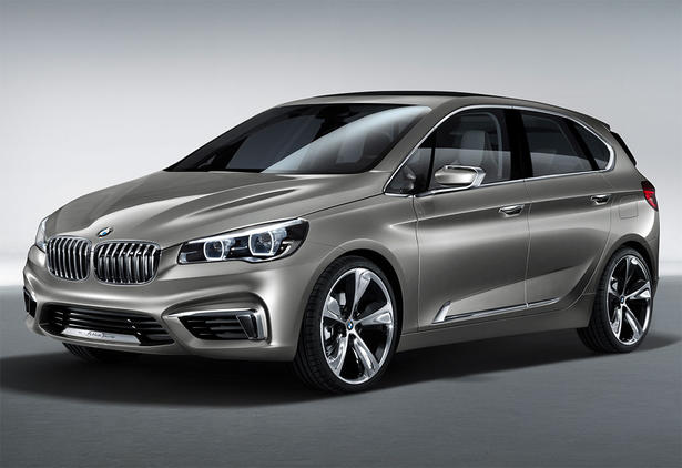 bmw active tourer mpv concept. Black Bedroom Furniture Sets. Home Design Ideas