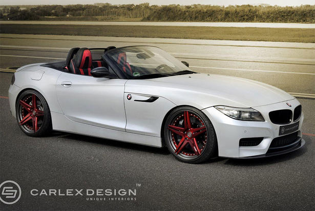 Bmw Z4 Body Kit And Interior Accessories By Carlex