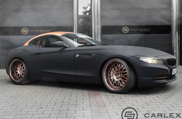 Bmw Z4 Gets Steampunk Accessories From Carlex