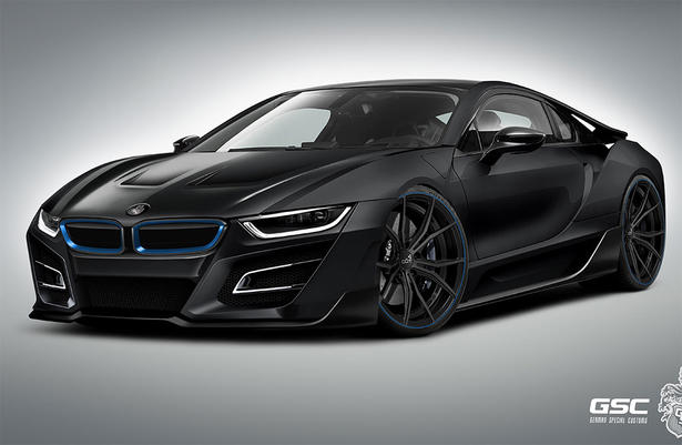 back in black bmw i8